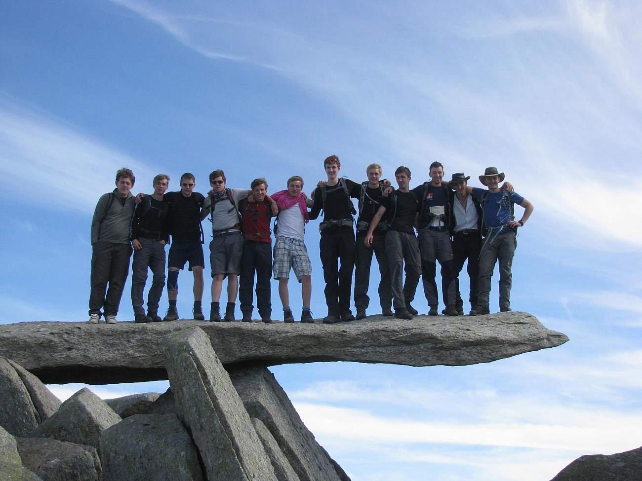 trekforce expedition leader training  u0026 work