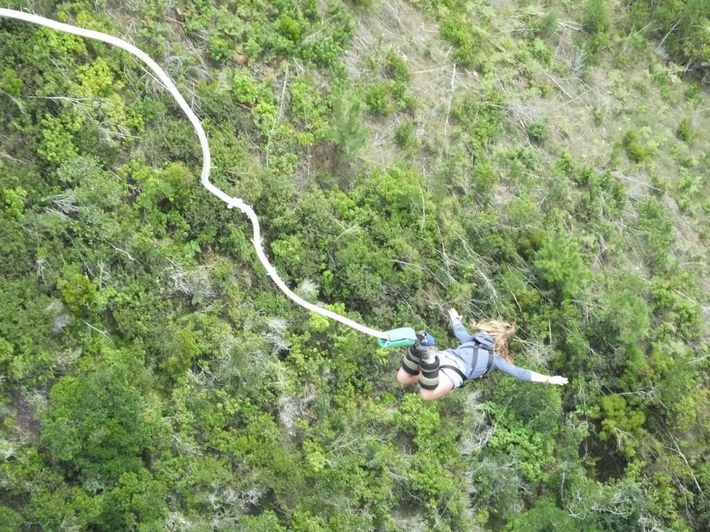Bungee Jumping South Africa Gap Year