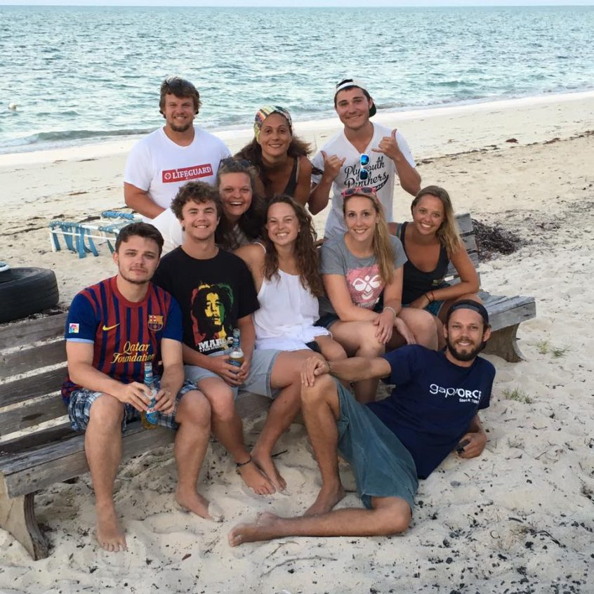 Bahamas Volunteers on their gap year