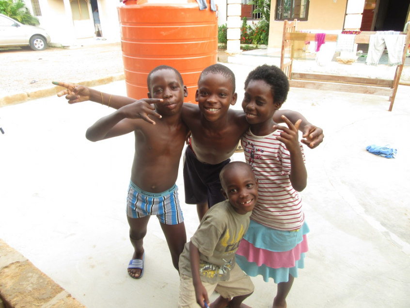 Volunteering With Children in Ghana
