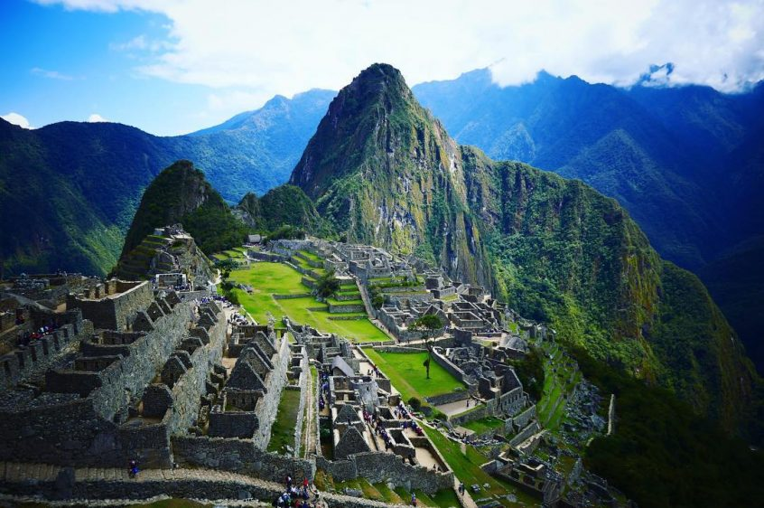 Climbing Machu Picchu on our gap year