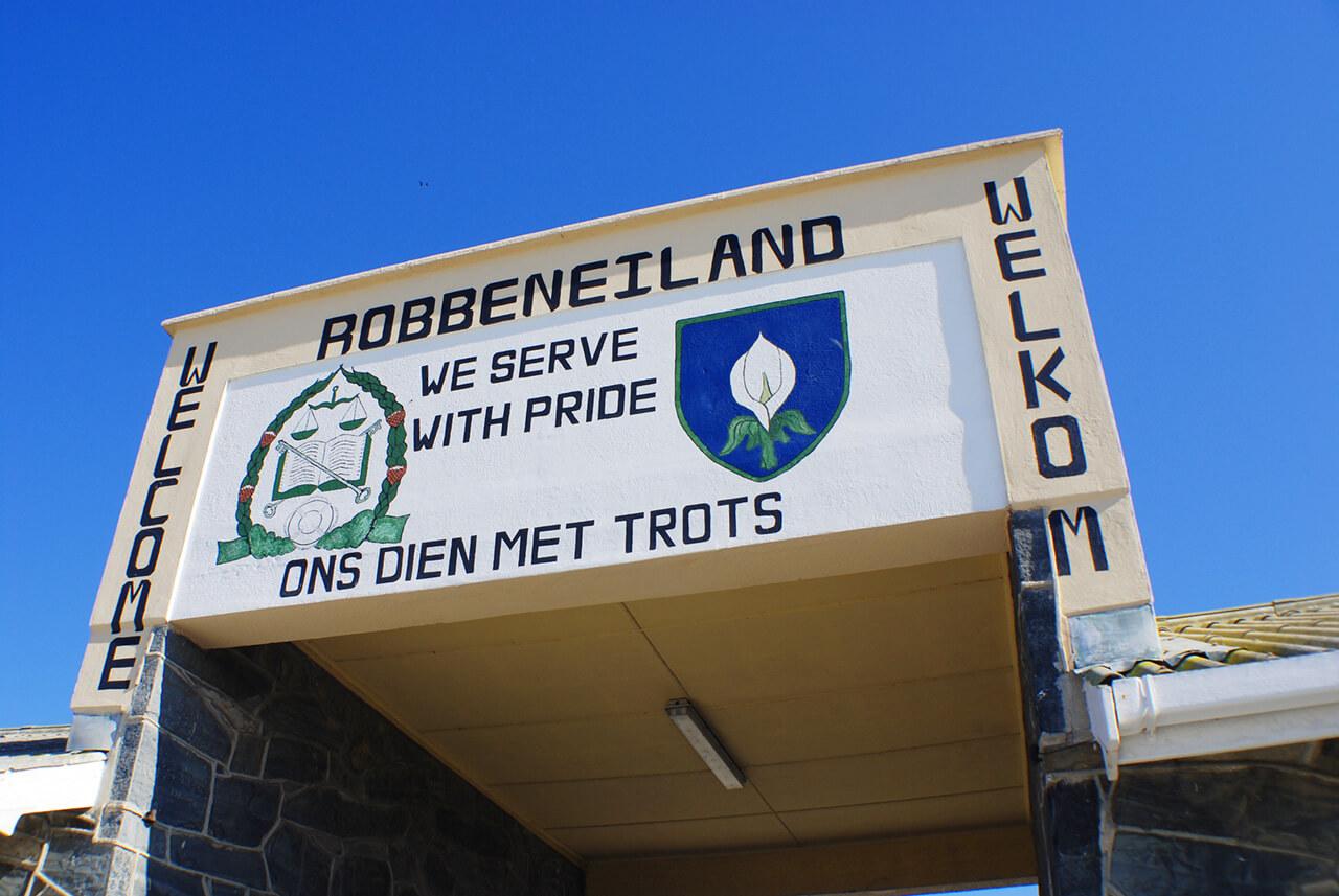 Visit robben island on your gap year