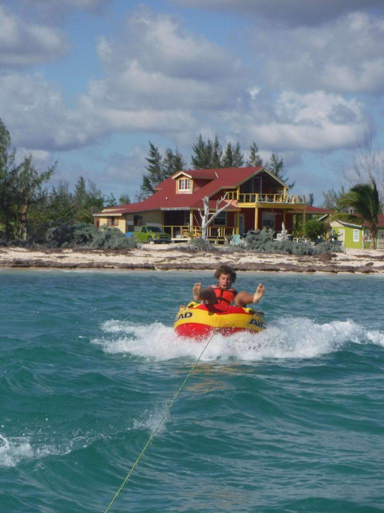 Ringo tubing in the bahamas