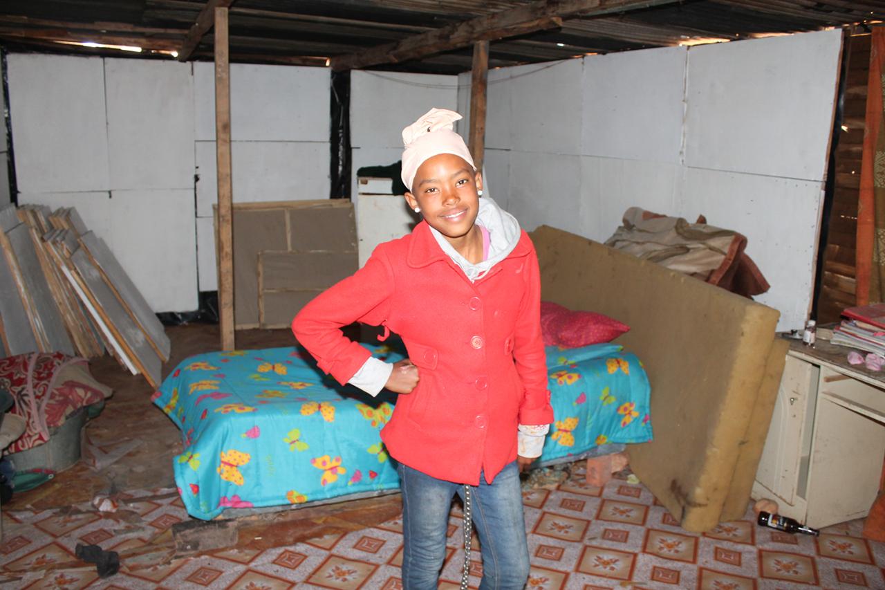 Danisa, 12, in Oudtshoorn