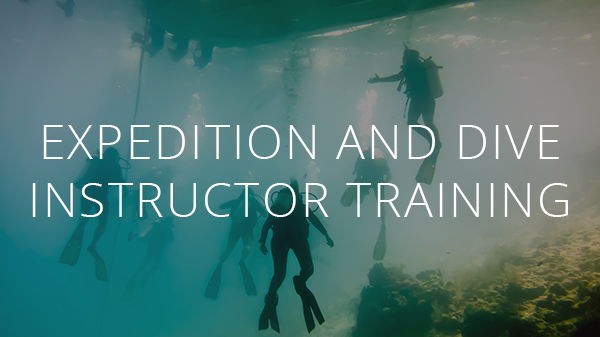 Expedition and Dive Instructor Training