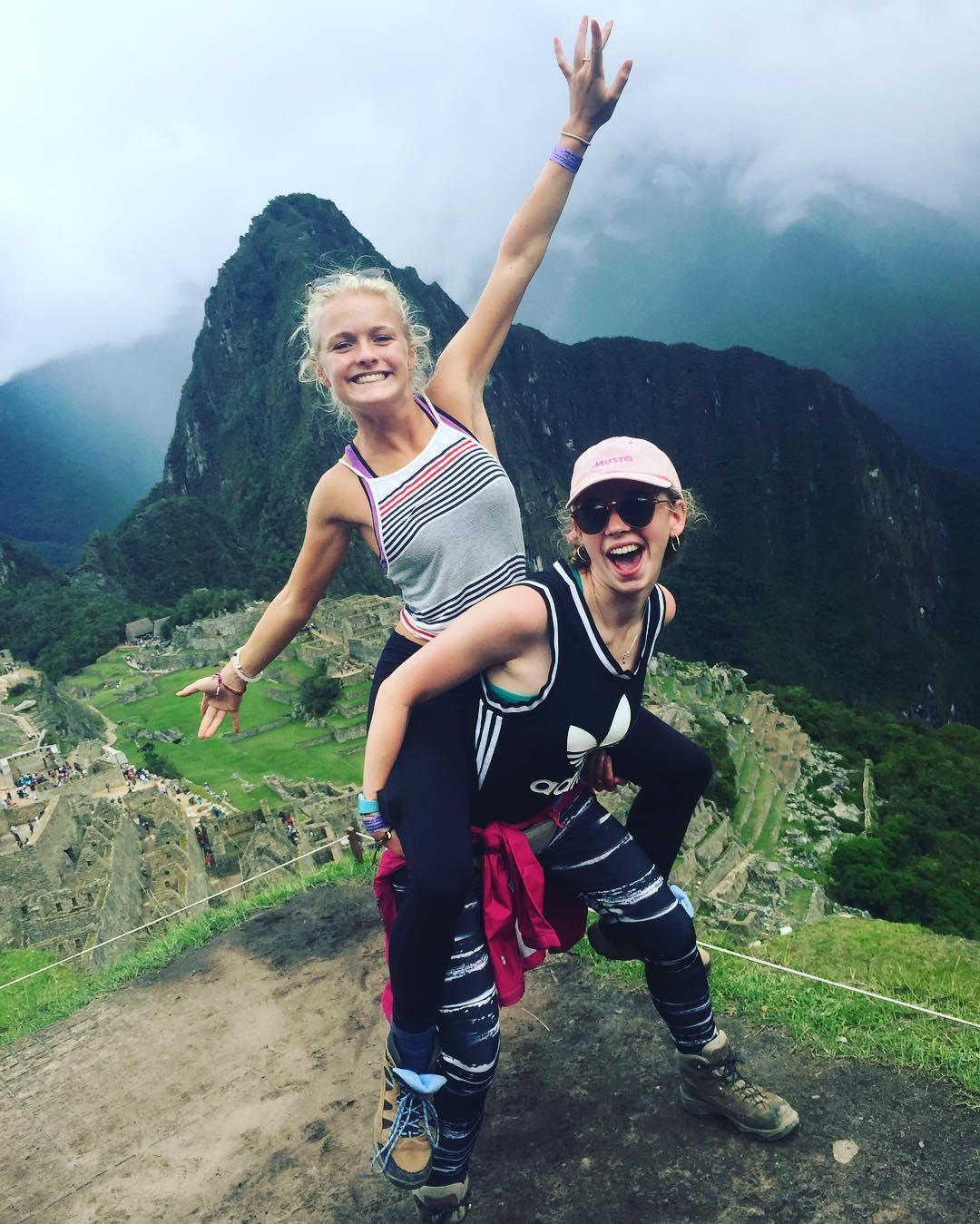 Trekking to Machu Picchu on a gap year