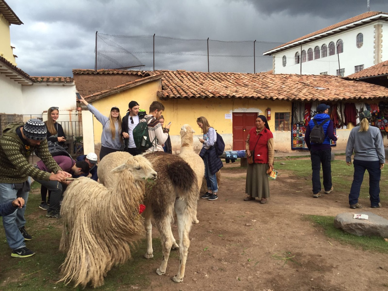 Adapting to altitude on a gap year in peru