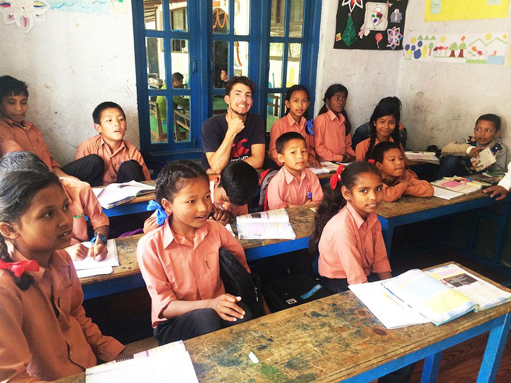 Teaching abroad in Kathmandu