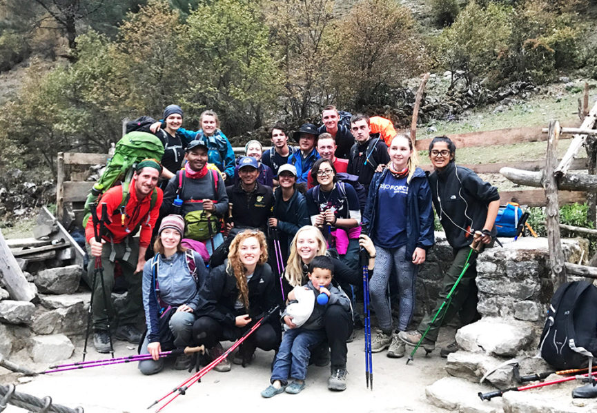 Trekking Everest Base Camp Gap Year