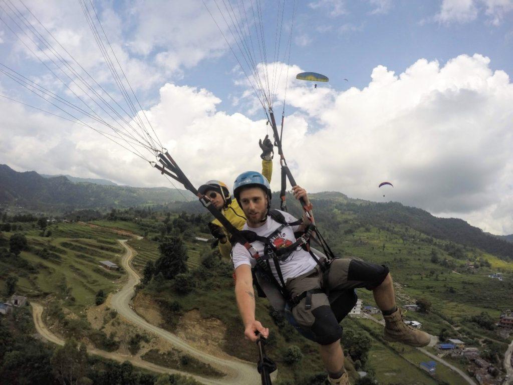 Parachuting Chtiwan park