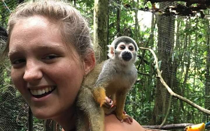 Wildtierrettung im Amazonasgebiet - Ecuador - Gap Year Program